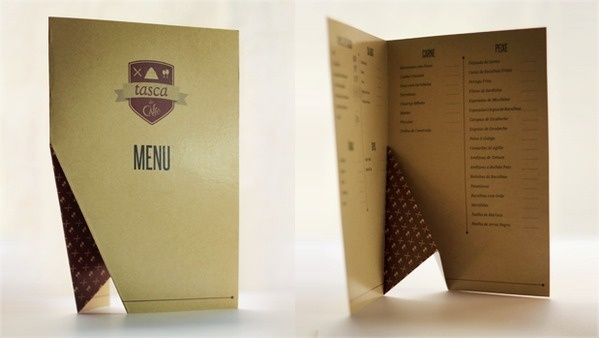 Tasca do Caffé - Brand & Ident on the Behance Network #menu #layout #typography