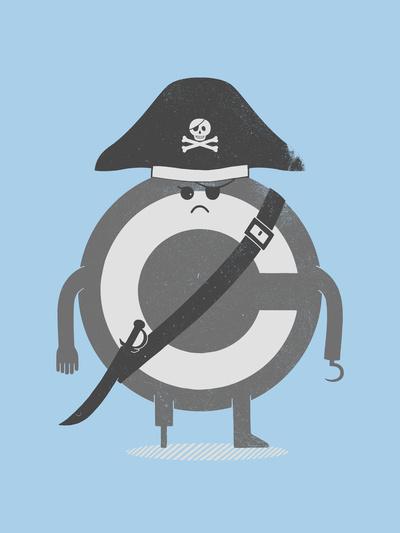 Pira-C #illustration #design #graphic #humor