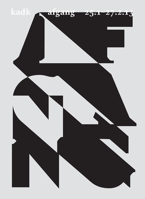 Afgang Vinter 13 #poster