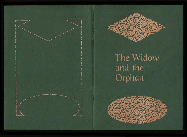 The Widow & the Orphan 𝔇𝔞𝓇𝒾𝓊𝓈 𝒪𝔲 #zine #typographers #pornography #typography
