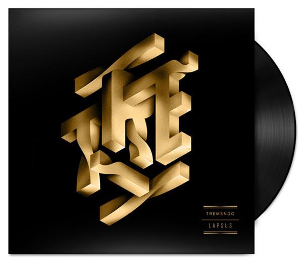 Tremendo Typography – Fubiz™ #gold #typography