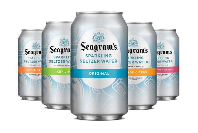 sparkling seltzer packaging #packaging #cans
