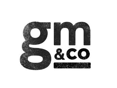 Dribbble - GM&CO by Garrett #logo