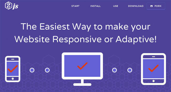 Restive.js – jQuery Plugin for make Website Responsive or Adaptive Easily
