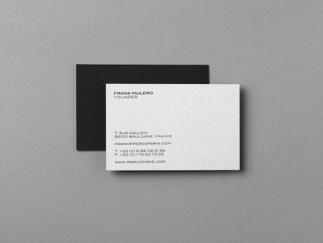New work from Xavier Encinas - Creative Journal #card #staionery #business