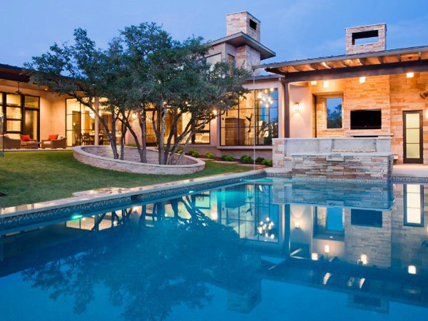 Hill Country Contemporary home #architecture #home