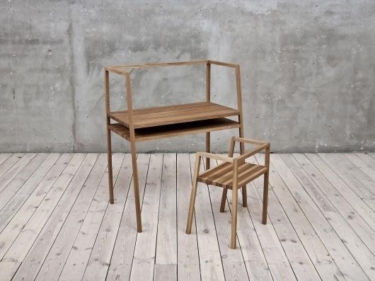 Oak #furniture #grain