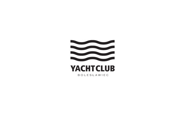 Yacht Club Bolesławiec on the Behance Network #dynamic #lines #logos #branding #identity