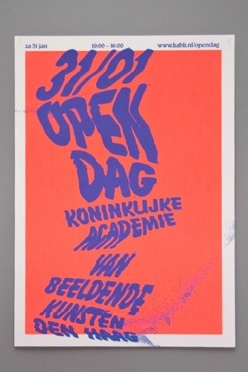 ANTHRKND (Open Day II) #ink #fluoro #distorted #poster #type #scan