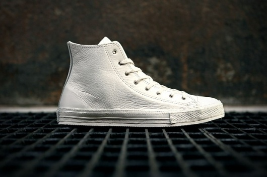 Converse 2012 Spring Chuck Taylor Premium White Leather | Hypebeast #fashion #design