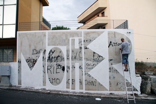 http://www.famefestival.it/ #graffiti #word #street #art #painting #mother #to