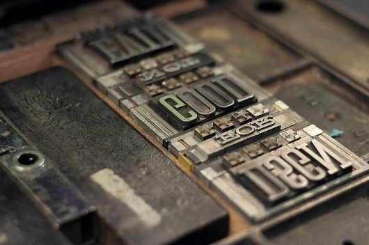 Bookmarks | Cast Iron Design Company #design #iron #letter #press #cast #typography