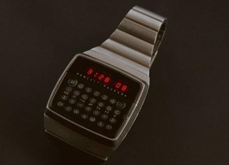 HP-01 Digital Wristwatch Calculator   Colorcubic #colorcubic #hp #70s #01 #calculator #time #watch #wristwatch