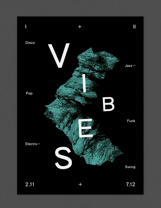 vibes poster #letterspace #typo #poster