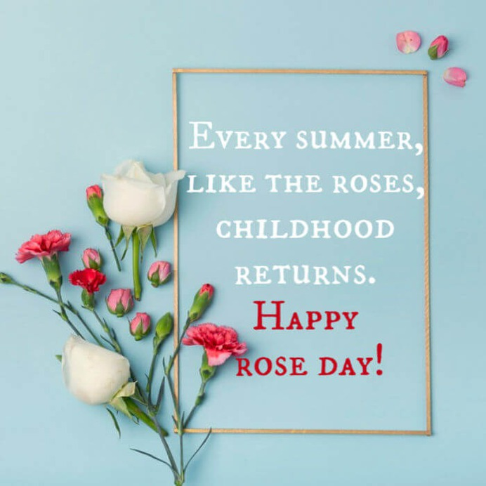 happy rose day messages 2020