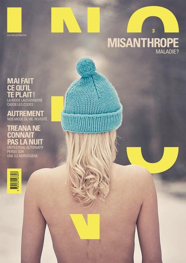 INO magazine by Lionel Melchiorre | Inspiration DE #ino #design #graphic #cover #magazine