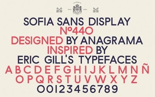 Anagrama   Sofia by Pelli Clarke Pelli Architects #identity #branding #typography