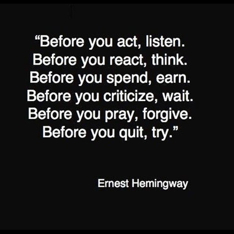 Before #quote #qoute