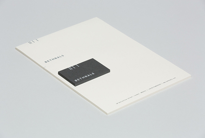 Bethnals by Post #graphic design #stationary #business card #print