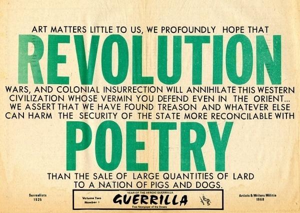 Babylon Falling #revolution #guerrilla #poster #typography