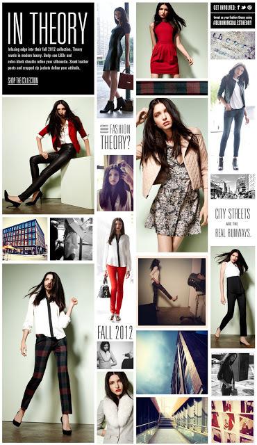 Theory Fall 2012 for bloomingdales.com #bloomingdales #theory #lookbook #fall #fashion