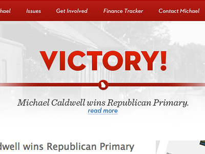 Victory #political #design #web