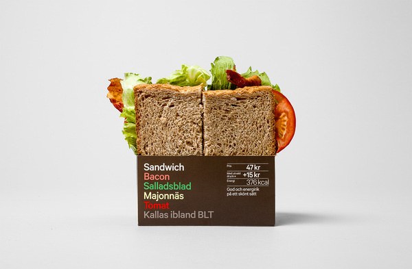 Reitan Sandwich Packaging by BVD #packaging #reitan #sandwich #bvd