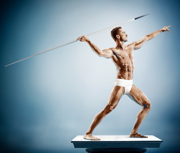 Sculpture Athletes by Tim Tadder #inspiration #photography #port