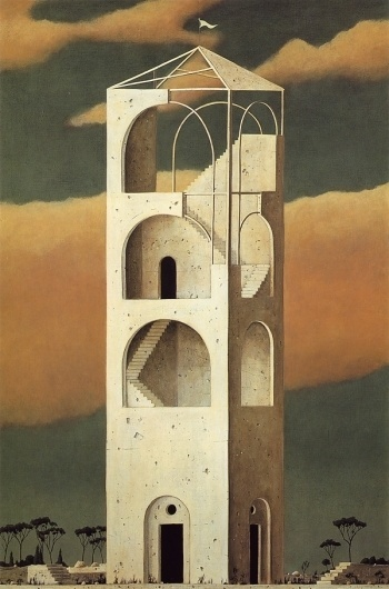 The Architect of Ruins - but does it float #architect #minoru #of #the #ruins #painting #nomata