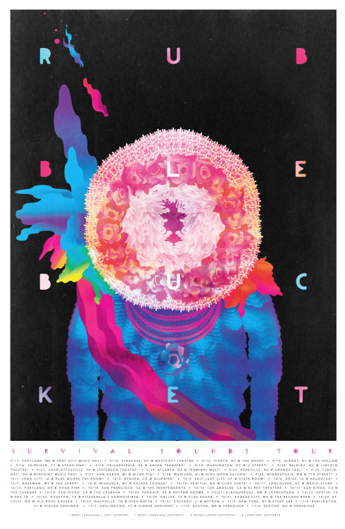 poster, illustration, vector, color, rubble bucket