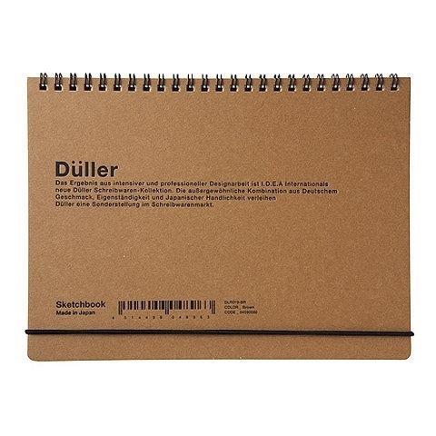 Düller Sketchbook | Goods | The Ghostly Store #sketchbookm