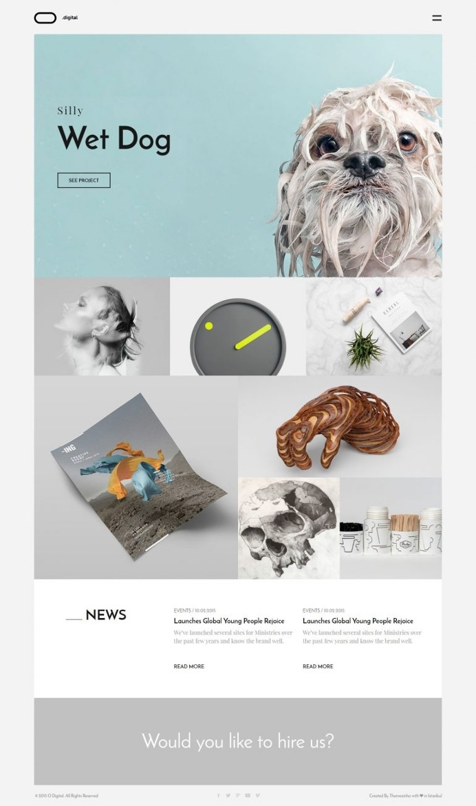 O Digital – Creative Portfolio Muse Template