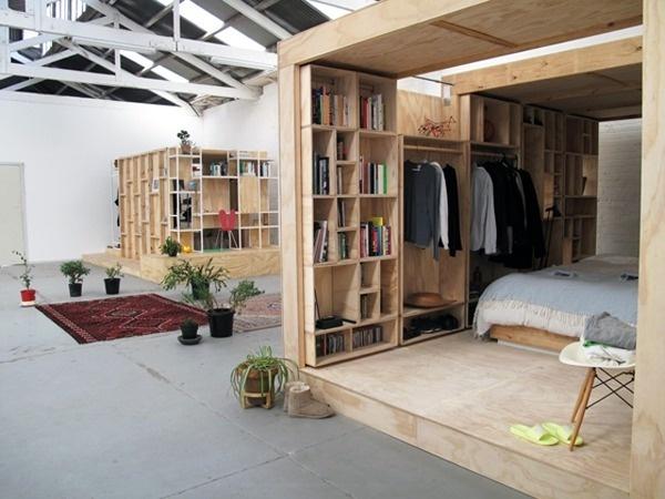 Wooden Sleeping Pods6 #interior #sleeping #design #decor #pod #wood #deco #decoration