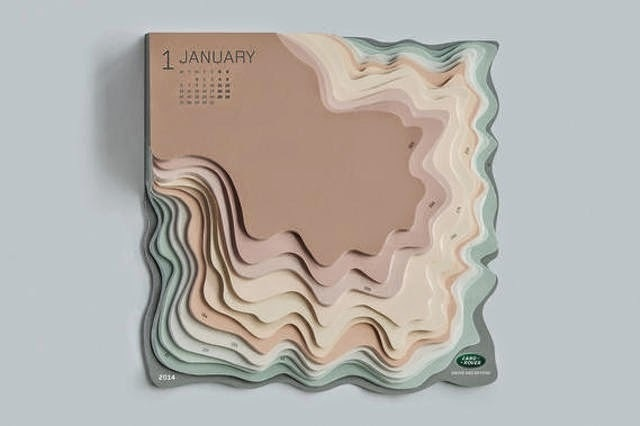 Balla Dora Typo-Grafika #calendar #topography