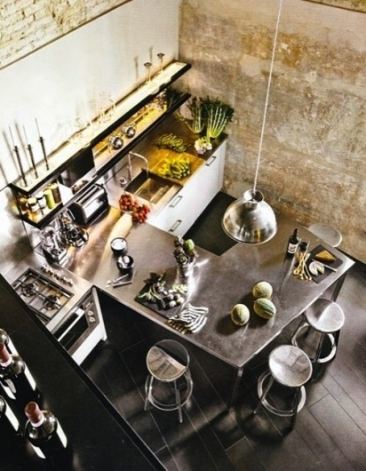 Tumblr #interior #loft #design #vintage