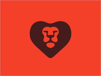 New Lion #heart #logo #lion #alen