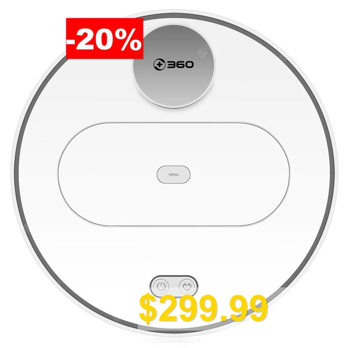 360 #S6 #Robotic #Vacuum #Cleaner #Automatic #Remote #Control #Cleaning #Robot