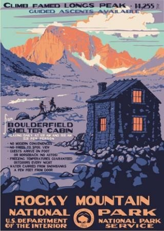 Rocky Mountain National Park #mountain #adventure #travel #park #hiking #colorado #wpa #poster #rocky #cabin #parks #mountains #national