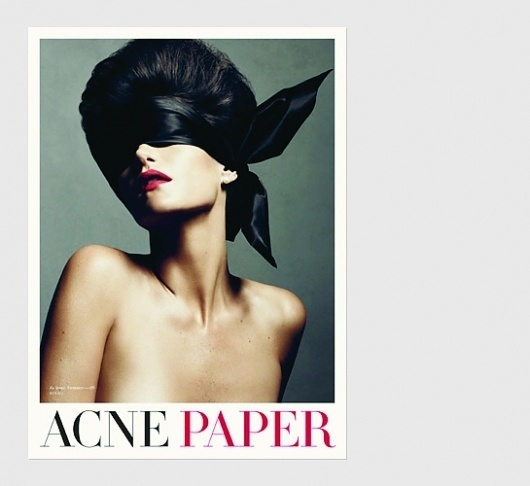 Acne Paper | Swiss Legacy #direction #art