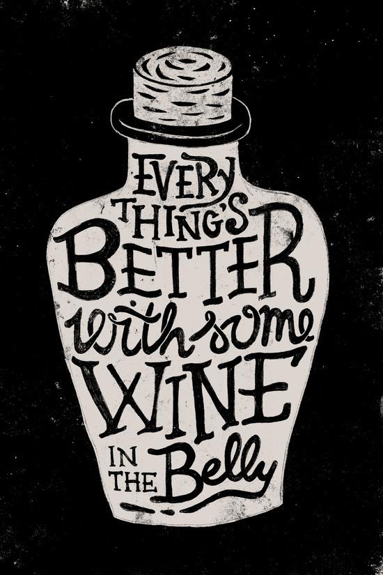 Wine in the Belly by WEAREYAWN