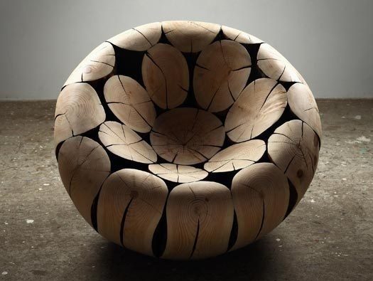 MOCO'12: a chair that was alive, and still looks that way, except in a different way #wood #chair