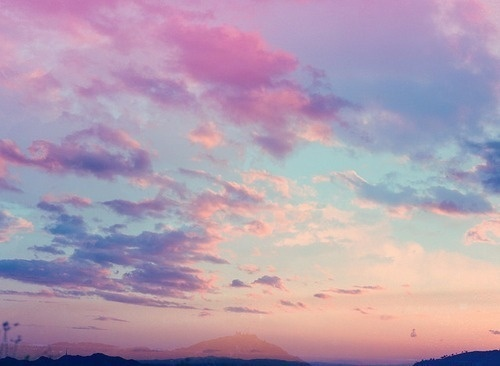 Likes | Tumblr #pink #nature #sky