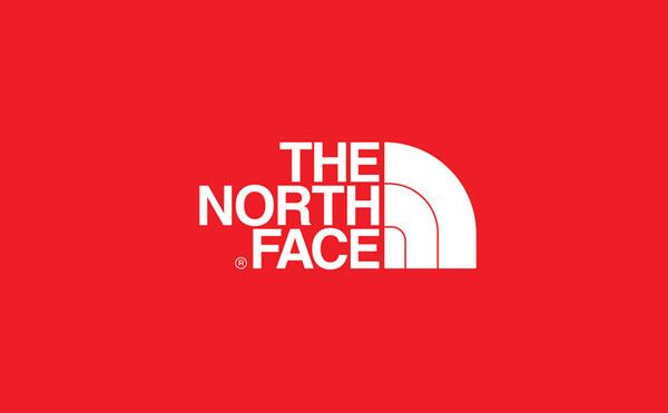 the north face logo design #logo #design