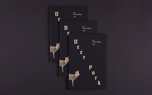 deer park : tilman schlevogt #basel #tilman #schlevogt #design #graphic #book #art #artist #editorial
