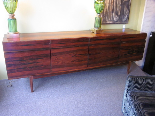 Beautiful Danish Rosewood Kofod Larsen Model #66 Sidebard/Credenza c1960s | eBay