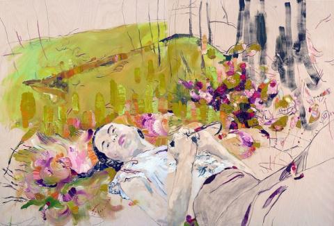 Judith Geher | PICDIT #design #paint #painting #art #flower
