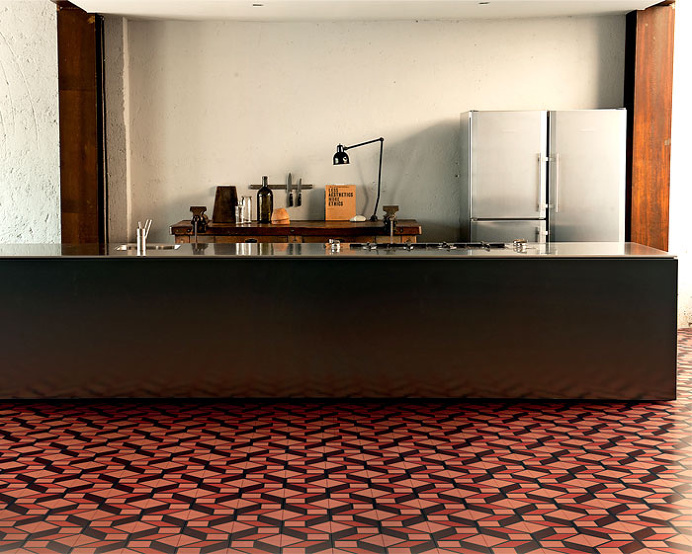Cementiles Collection by Tom Dixon for Bisazza - #floor, #tiles