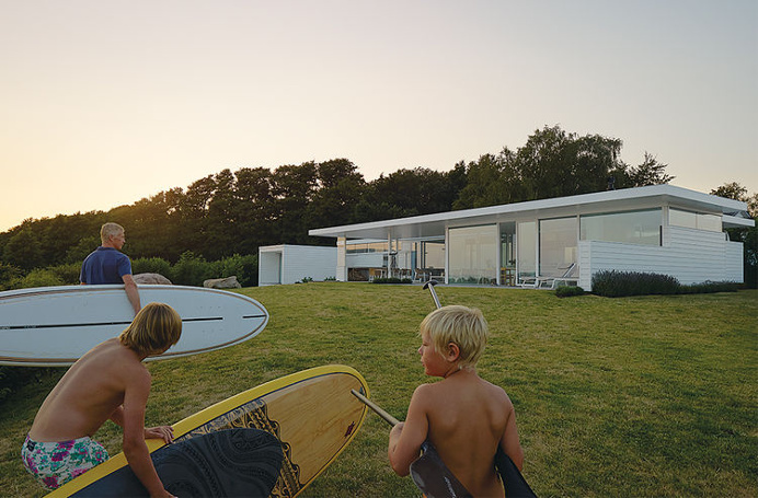 Surfers House on the West Coast of Sweden