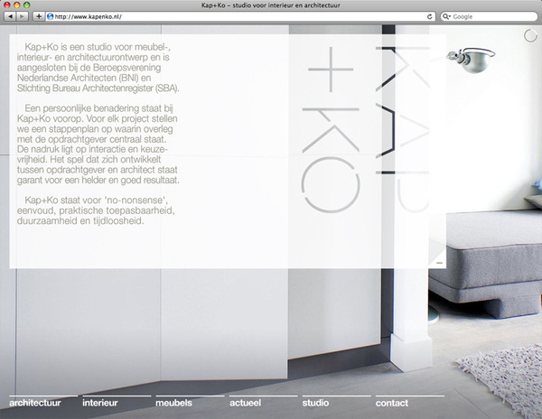 Studio Kap+Ko : CAPAZ #diaporama #transparence