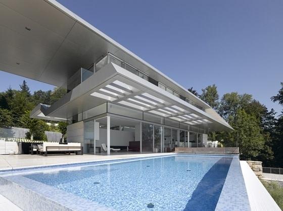 CJWHO ™ (Villa A, Linz, Austria by Najjar & Najjar Villa...) #austria #design #pool #architecture #luxury